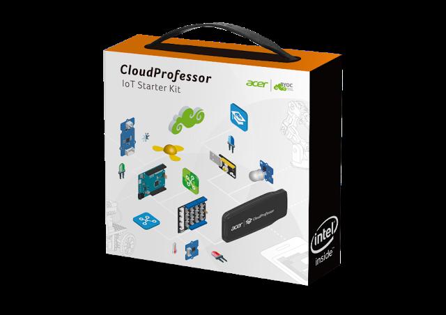 Obrázek: IoT kit CloudProfessor od Aceru bude konečně dostupný. Kombinuje hardware, software a cloud