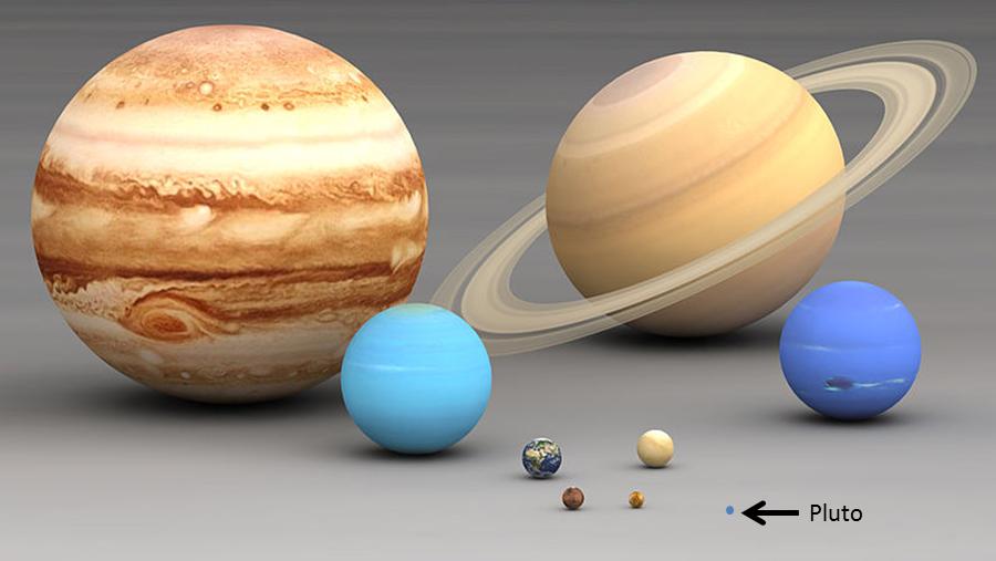 Obrázek: Kolik planet má sluneční soustava? Možná stovky, Pluto má šanci na návrat mezi elitu