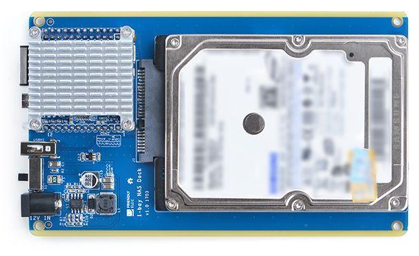 Obrázek: Síťový NAS pro kutily: Základem je miniaturní počítač NanoPi Neo za 180 Kč