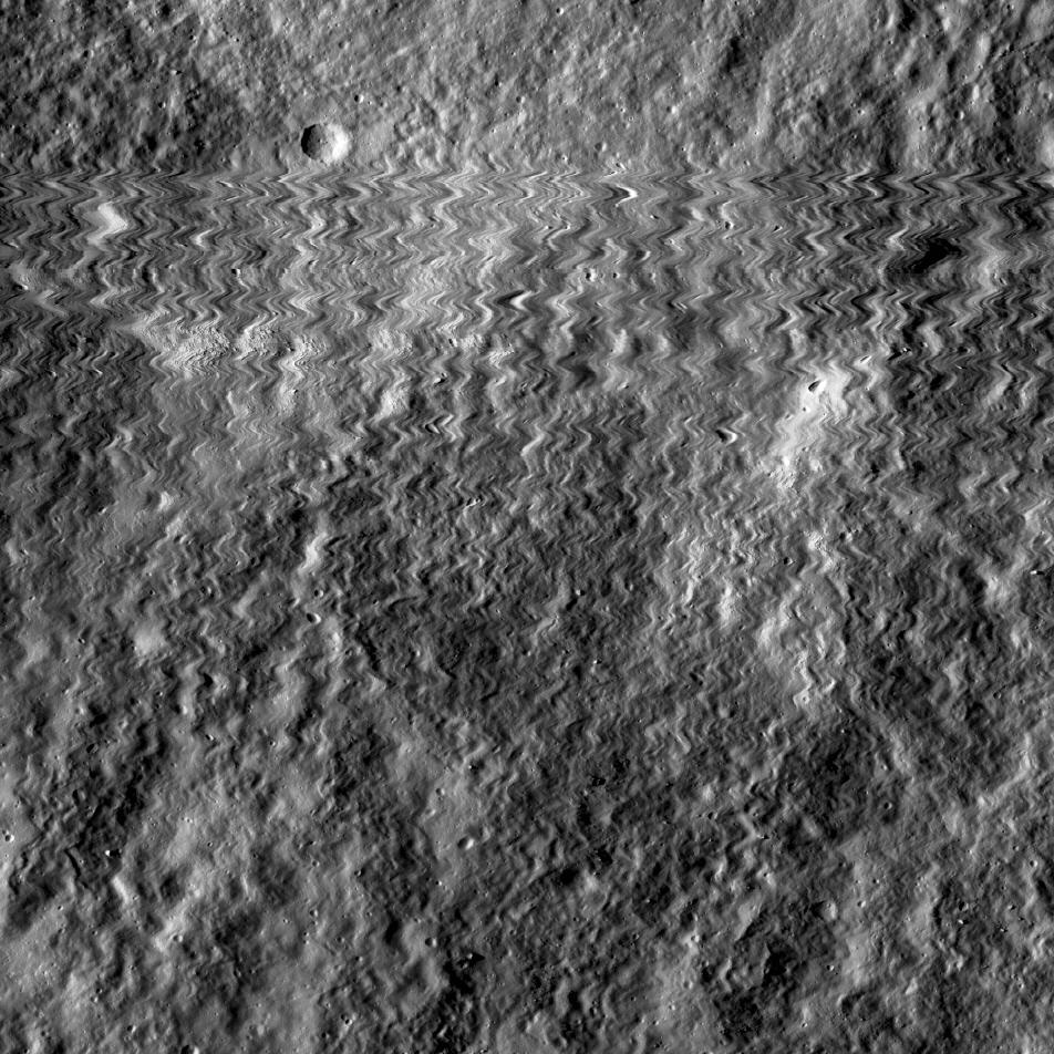 Obrázek: Proč průzkumný orbiter náhle pořídil roztřesené snímky Měsíce?