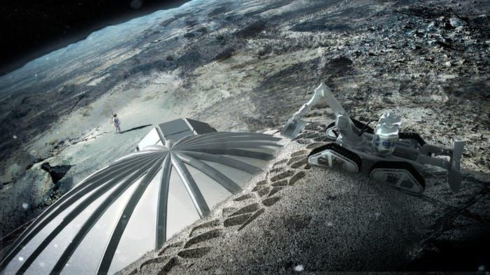 Obrázek: NASA chce začít těžit na Měsíci, je plný platiny a železa