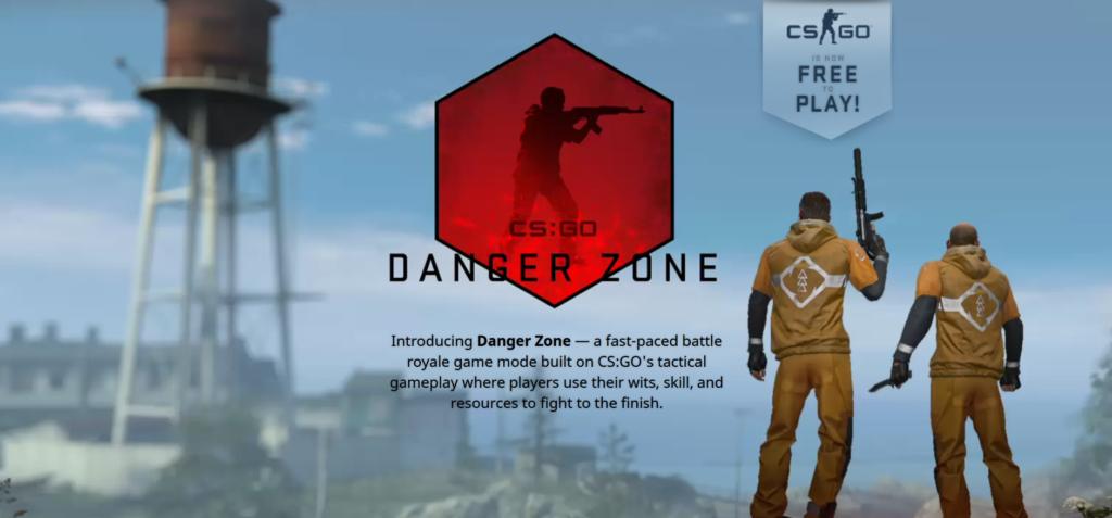 CS:GO je nyní free to play a má battle royale mód